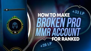 HOW TO MAKE A PRO RIOT MMR ACCOUNT FOR RANKED SEASON 11 (EXPLOIT)
