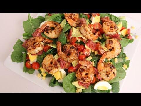 Shrimp Cobb Salad Recipe - Laura Vitale - Laura in the Kitchen Episode 399