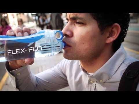 GOBIE h2o filtered water bottle - clean water anywhere