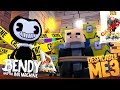 DESPICABLE ME 3 HAS BEEN CANCELLED BY BENDY, THE MINIONS & GRU ARE TRAPPED - Minecraft Modded Game