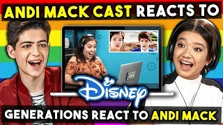 Disney's Andi Mack Cast Reacts To Generations React To Disney's 1st Gay TV Character - Cyrus
