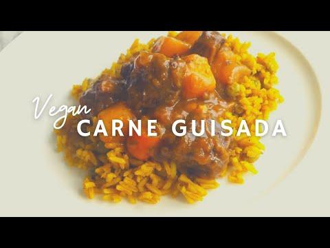 Vegan Carne Guisada | How To Make Gluten-free Vegan Beef Stew | Korenn Rachelle