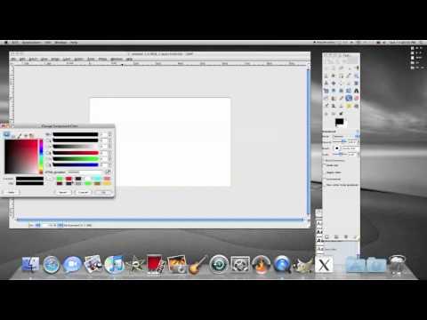 Draw a Line in Gimp Photo Editing Program