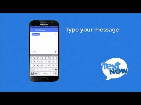 How to Text with TextNow   Android