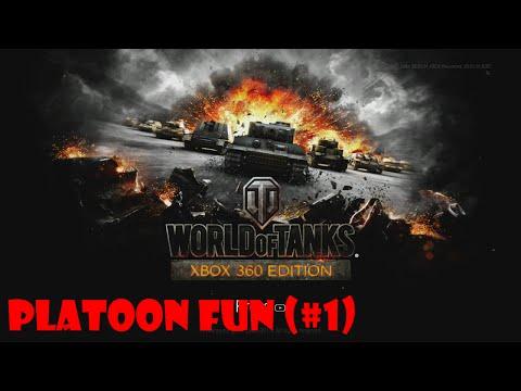 World Of Tanks Xbox 360 Platoon Fun (#1)