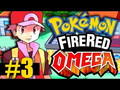 Pokemon Fire Red Omega - Part 3 - Pewter City Gym, Route 3, and Team Training!