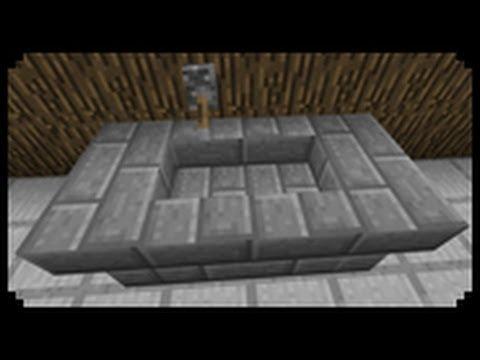 ✔ Minecraft: How to make a Bathtub