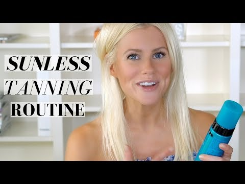 SELF TANNING ROUTINE ft. St. Tropez, Eco Tan and Clarins   Mikaela South