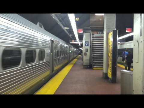 LIRR and NJ Transit at New York Penn Station