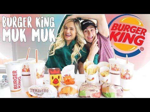 Burger King MukMuk! (Mukbang) ft David Alvareezy