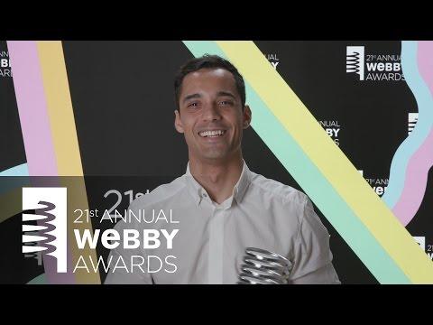 Ogilvy New York's 5-Word Speech at the 21st Annual Webby Awards