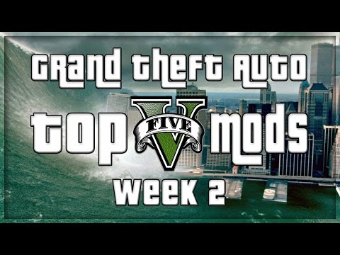 GTA 5 PC MODS - VEHICLE CANNON, TSUNAMI, JEDI FORCE AND MORE! (GTA V PC MODS - WEEK 2)