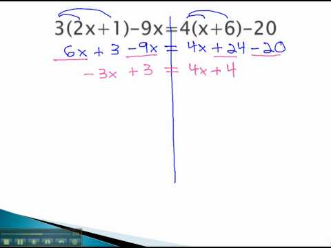 Solving Equations with Fractions - Simplify with Variable on Both Sides