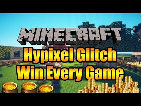 Minecraft Glitch : Hypixel Infinite Coin Glitch ( Win Every Game ) Tutorial