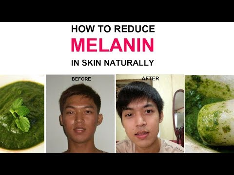 How to reduce melanin in skin naturally | How to reduce melanin in face | Get fair skin