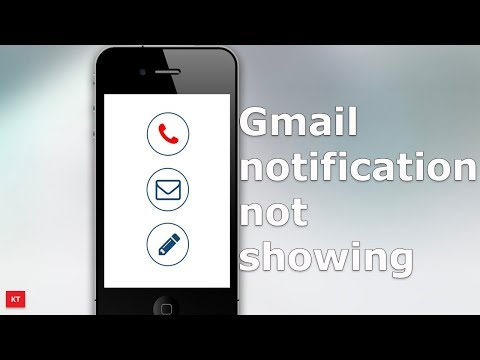 No notification for emails received in Gmail app in android device