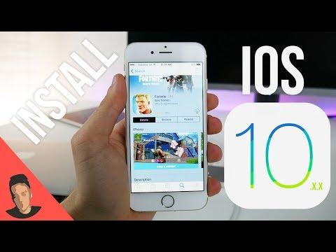 Install Fortnite IOS 10.3.3 - 9.3.5 iPhone, iPad & iPod No JB | Download link