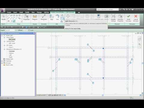 Creating a new window family in Revit