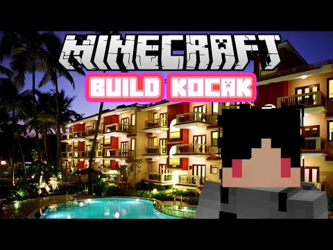 Minecraft Indonesia - Build Kocak (27) - Hotel!