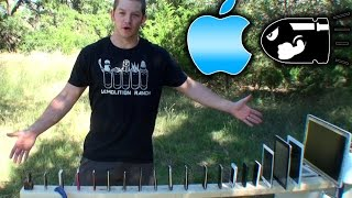 Apple Devices vs 50cal