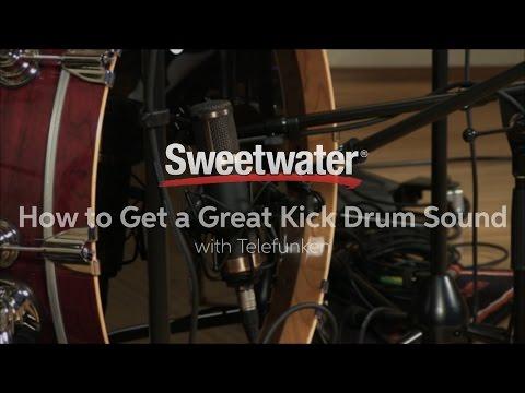 How to Get a Great Kick Drum Sound with Telefunken Microphones