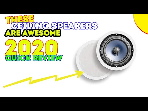 Best Ceiling Speakers 2018