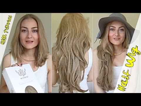 Kylie Jenner hair extensions How to wear a half wig extension courtesy of KoKo Couture