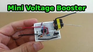 Download Mini Voltage Booster - 6 to 600 volts Video