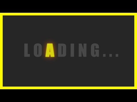 Glowing Text Effect Loader Using CSS3   Animated Loader   Blinking Text Glow Effect