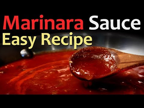 Best Marinara Sauce - Vegan Recipe