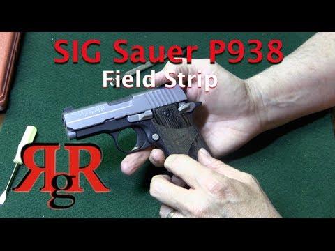 SIG Sauer P938 / P238 Field Strip