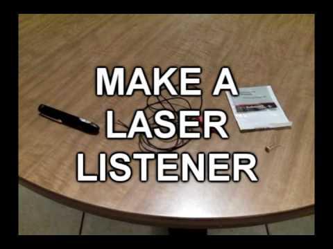 Make A Laser Listener!