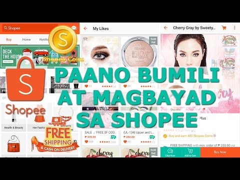 Shopee Demo 2:  Shopee Payment Options + FREE Shipping and Cash on Delivery | ChubbyChiniCatt
