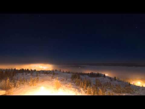 Frozen Yellowknife - Ice Fog Timelapse