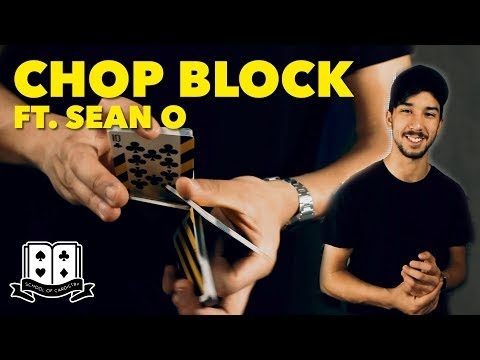 Cardistry for Beginners: Two-handed Cuts - Chop Block Tutorial ft. Sean O