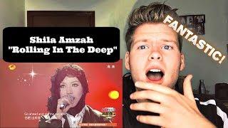 Reaction 我是歌手-第二季-第11期-Shila Amzah茜拉《Rolling in the deep》-【湖南卫视官方版】