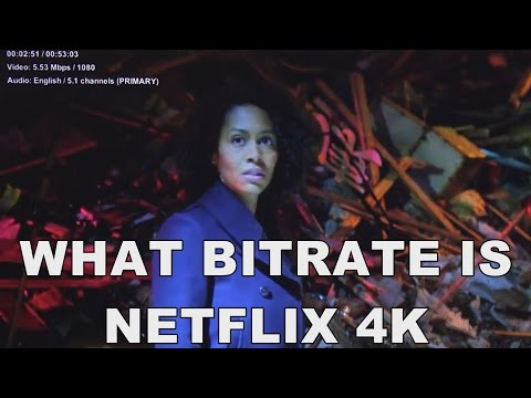 What Bitrate Is Netflix UHD 4K Video How Fast Does Your Internet Speed Need To Be To Stream It