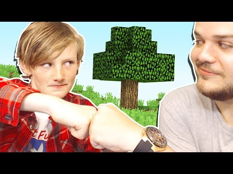 PLAYING MINECRAFT WITH A 10 YEAR OLD!