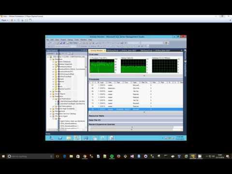 SQL 2012 DMVs and Activity Monitor