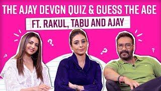 Ajay Devgn, Tabu, Rakul play