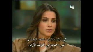 Queen Rania speaks with Oprah on the Oprah Show Part 2