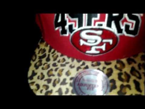 Custom 49ers snapback