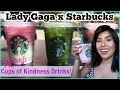 NEW! Lady Gaga x Starbucks Drinks Taste Test