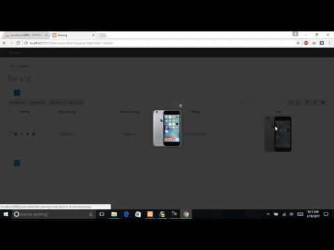 Cara Menambahkan Gambar di PHP Generator for Mysql