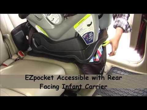 AIDIA EZpocket Low Back Car Seat Protector