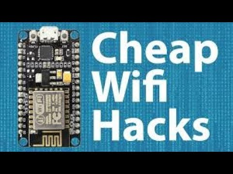 📶Wifi Jammer: How to make with5$ ESP8266⚠️
