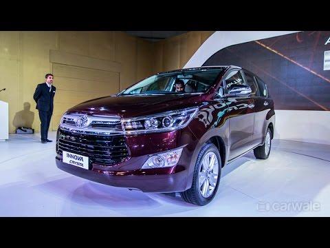 New Toyota Innova Crysta : First Impressions : PowerDrift