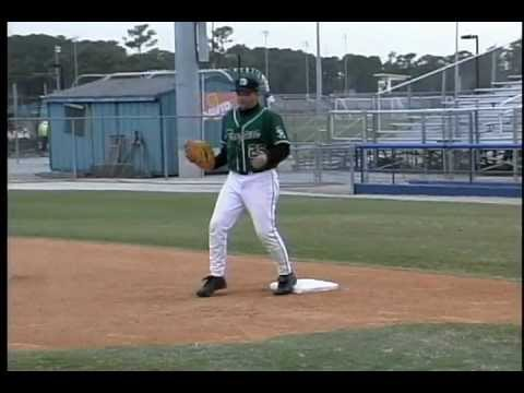 First Base - How To Pick A Ball Out Of Dirt - By Winning Baseball