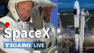 🔴[LIVE] Suivez le lancement de SpaceX commenté en français
