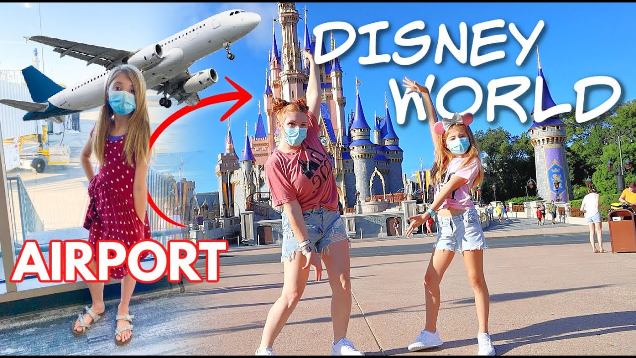 24 HOUR journey to DISNEY WORLD 2020 (Mom & daughter FIRST TIME trip)